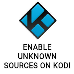 Enable unknown sources on Kodi 18 Leia