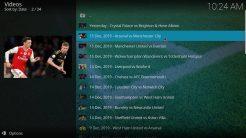 Our Match Kodi Addon Premier League Football Highlights