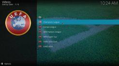 Our Match Kodi Addon Category Europe