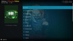 Chucky Video Kodi Addon Documentary Section