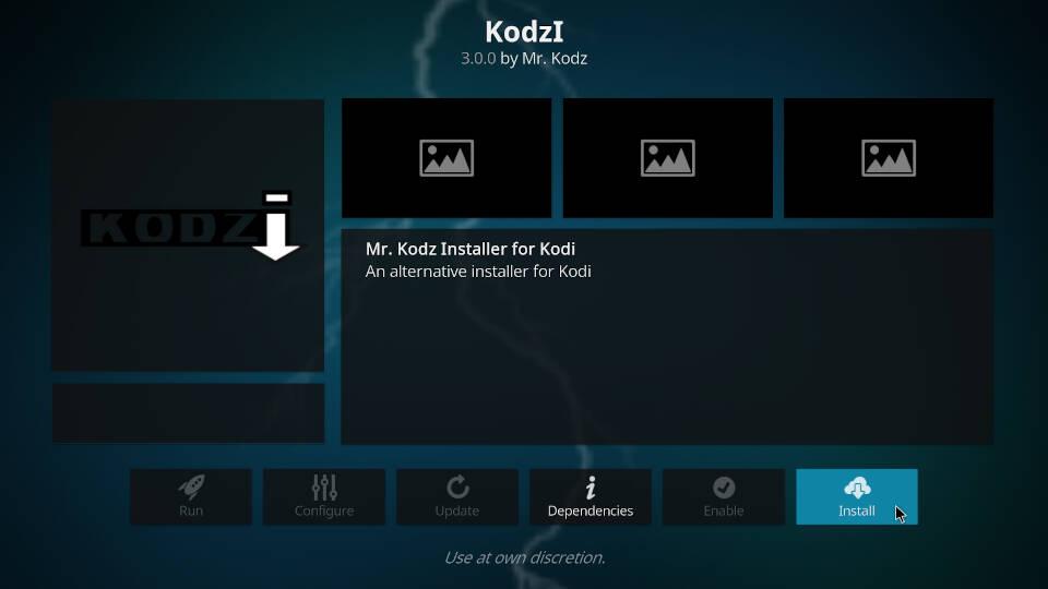 How to install Kodi addons - Step 5
