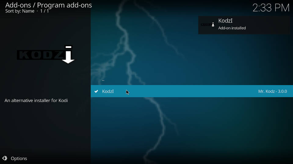 How to install Kodi addons - Step 7