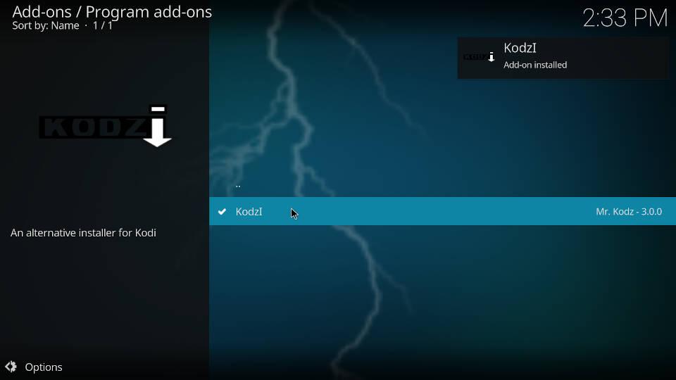 How to install Kodi addons - Step 7