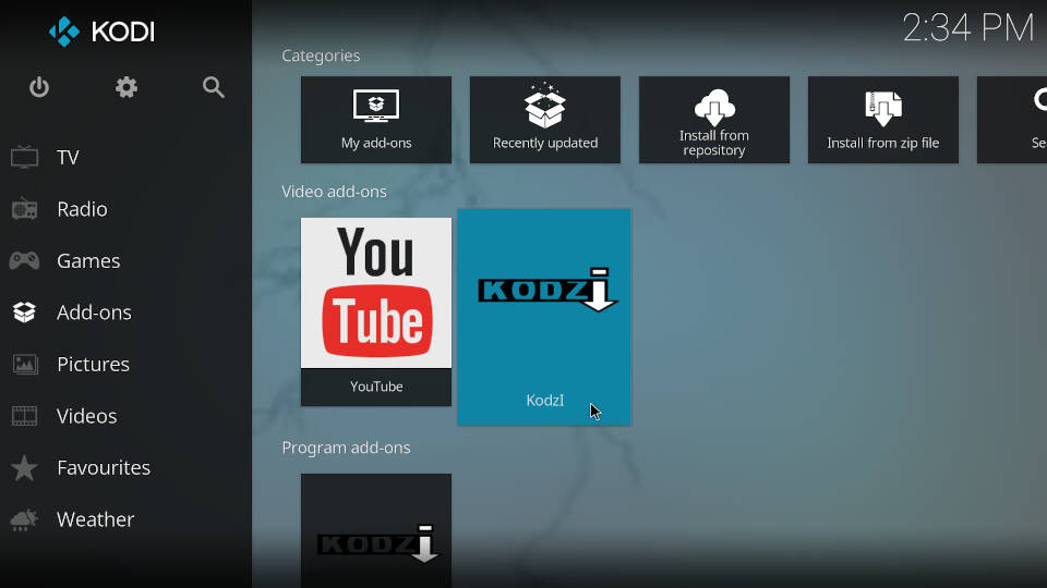 How to install Kodi addons - Step 8
