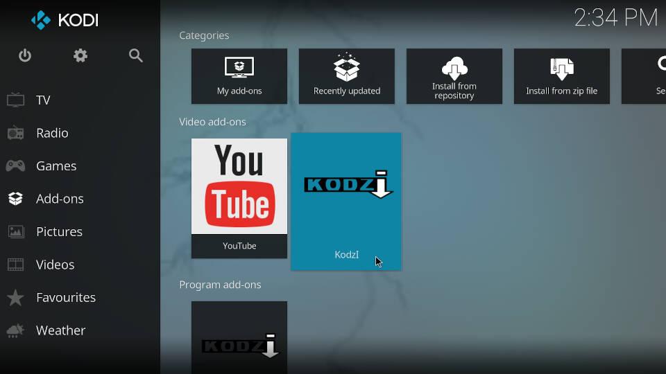 How to install Kodi addons - Step 8