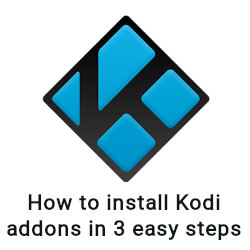 How to install Kodi Addons
