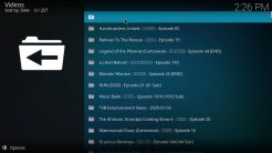 IcDrama Kodi Addon Recent Updates Section