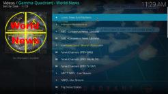 Gamma Quadrant Kodi Addon Main Menu I