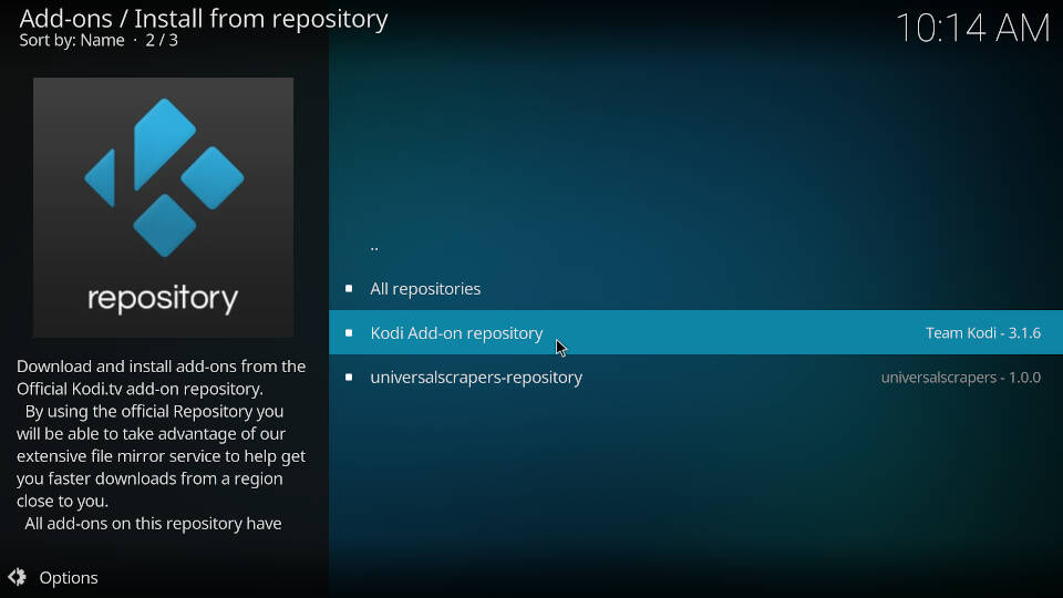 Enable InputStream Adaptive and RTMP Input in Kodi - Step 4