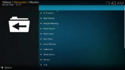 Marauder Kodi Addon Movies Section