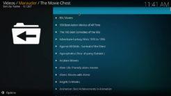 Marauder Kodi Addon The Movie Chest Section