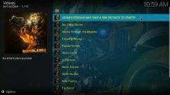 Bumblebee Kodi Addon Movies Section