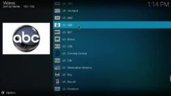 TvTap Kodi Addon Entertainment Section