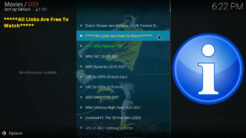 DS9 Kodi Addon Replays Section