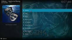 Neptune Rising Kodi Addon Movies Section