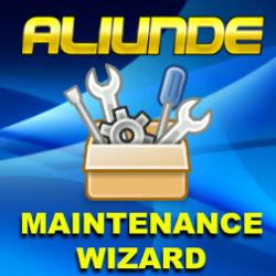 Aliunde Maintenance Wizard Kodi Addon