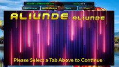 Aliunde Maintenance Wizard Kodi Addon Main Menu