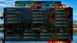 Aliunde Maintenance Wizard Kodi Addon Tools Section