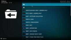 Purely Wrestling Kodi Addon Archives Section