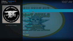 Sealteam6 Kodi Addon Main Menu