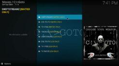 GOTO Kodi Addon Live TV Section