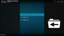 Brazuca Play Kodi Addon TV Ao Vivo Section