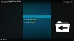 Brazuca Play Kodi Addon Filmes Section