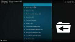 Subsmovies Club Kodi Addon All Movies Section