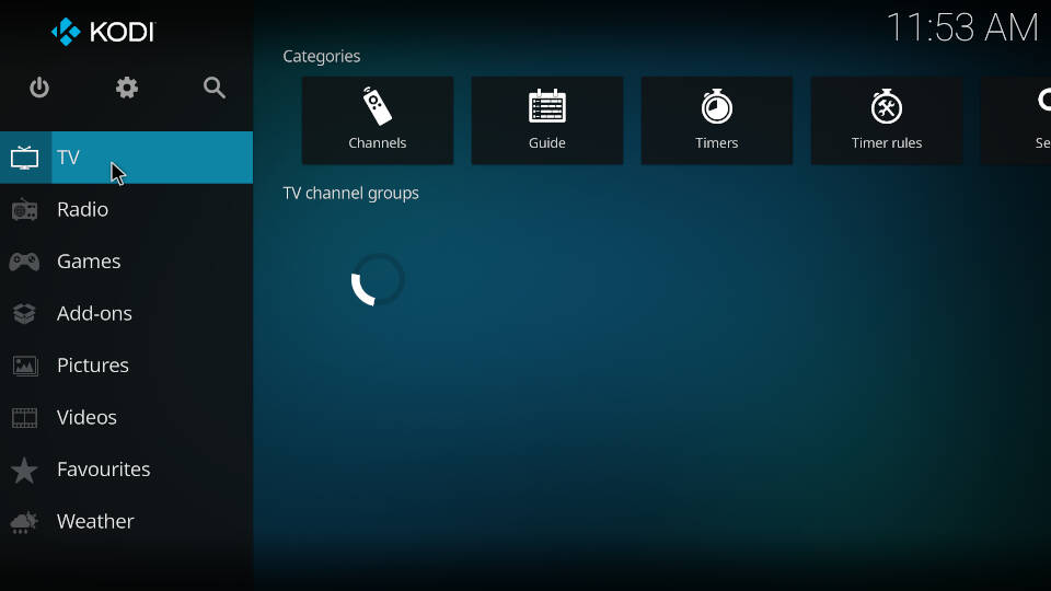 PVR IPTV Simple Client - Acess and watch live TV channels - Step 1