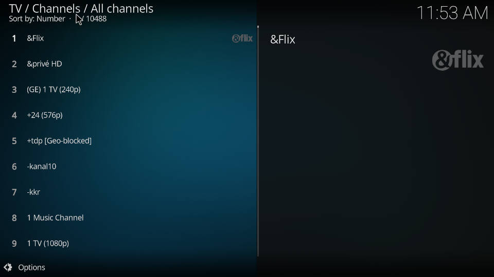 PVR IPTV Simple Client - Acess and watch live TV channels - Step 2
