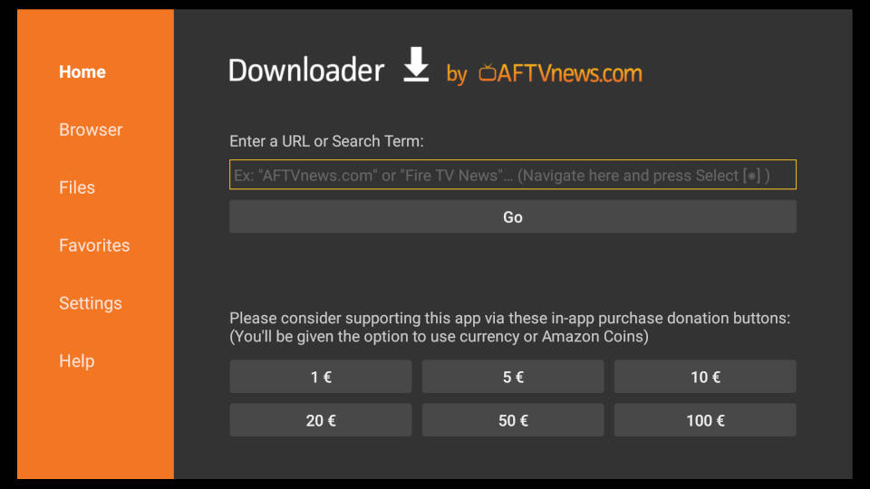 How to install Downloader App on Fire TV - Step 9
