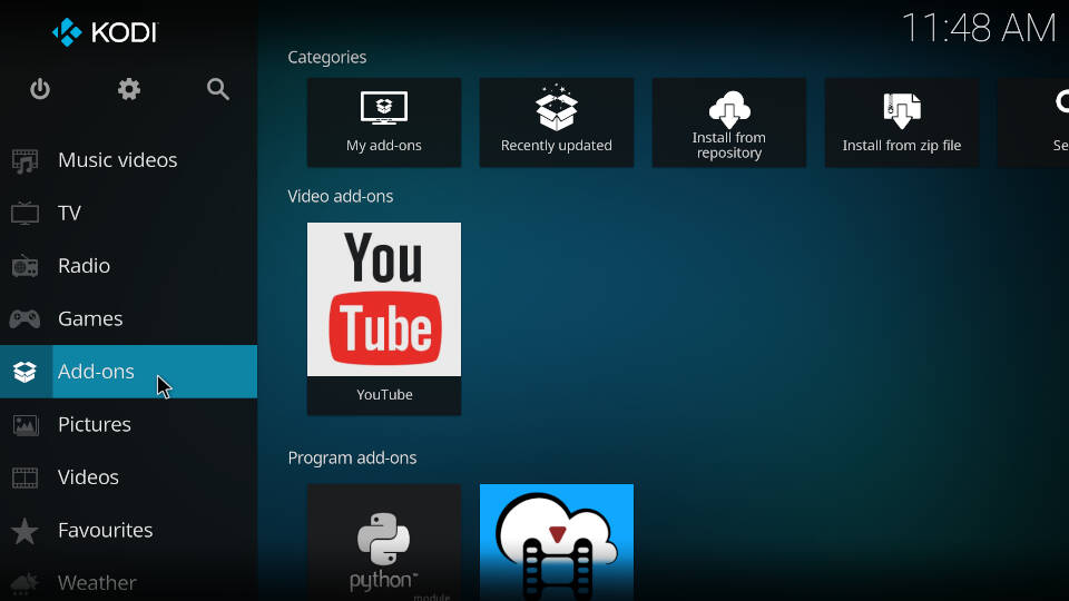 How to Install PVR IPTV Simple Client Kodi Addon - Step 1