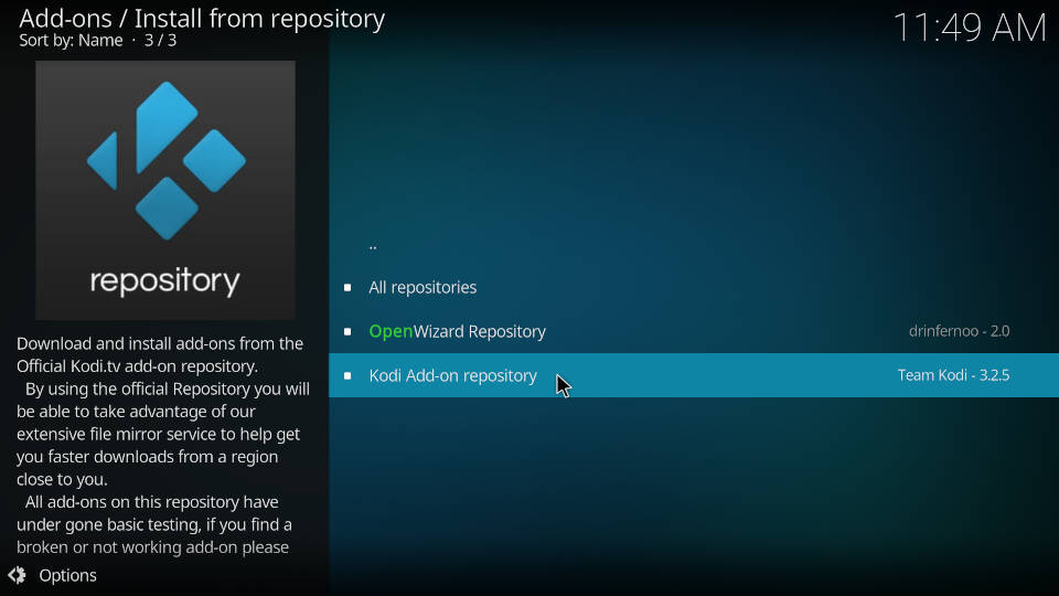 How to Install PVR IPTV Simple Client Kodi Addon - Step 4