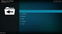 Jizz Planet Kodi Addon Live Cams Section
