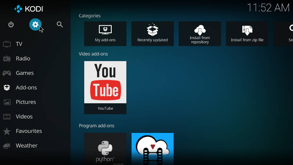 PVR IPTV Simple Client - Reload Channels and EPG - Step 1