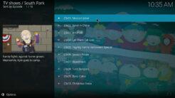 South Park Kodi Addon Season 23 Section