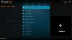 Base 19 Kodi Addon Movie World Section