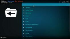 Navyseal Big Brother Kodi Addon Movies Section