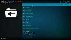 Navyseal Big Brother Kodi Addon TV Shows Section