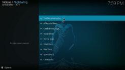 Nightwing Kodi Addon Docs Section