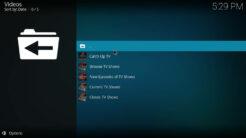 UK Turk Playlists Kodi Addon TV Shows Section