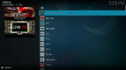 UK Turk Playlists Kodi Addon Live TV Section