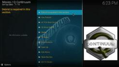 Q Continuum Kodi Addon One Click Section