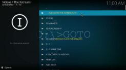 The Xstream Kodi Addon TV Shows Section